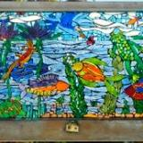 """Reef Life 24"""" x 28 """" - sold"""