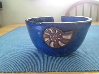 Nautilus Yarn Bowl